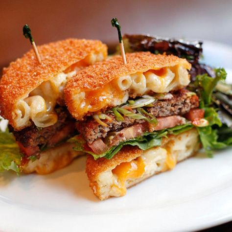 Macaroni And Cheese Burger - The Cheesecake Factory - Zmenu, The Most Comprehensive Menu With Photos