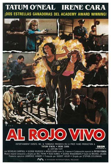 Al Rojo Vivo 1985 Certain Fury De Stephen Gyllenhaal Tt0088895 Rojo Vivo Cine Ganador