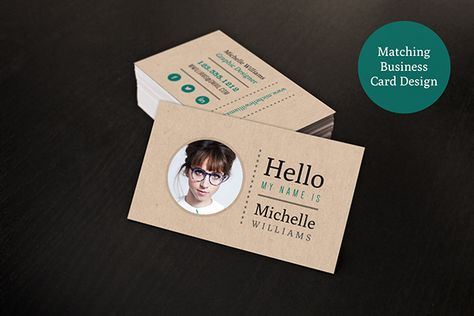 Creative Resume \ Business Card Set on Behance Business Cards - resume business cards