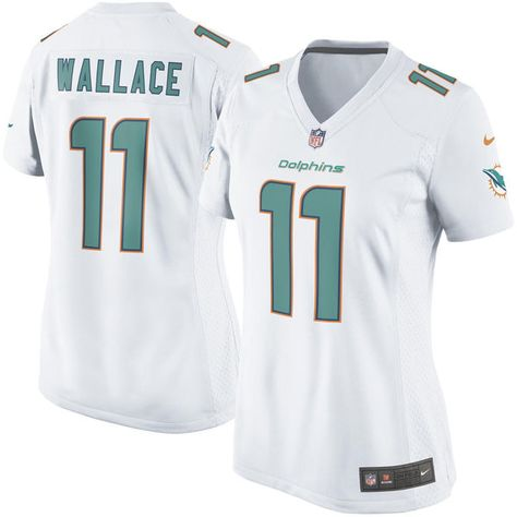 green team color nfl jersey nike miami dolphins 11 mike wallace 2013 white limited new logo jersey m