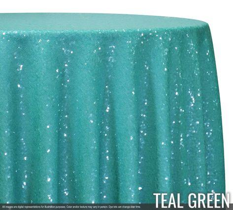 Glitz Sequins Tablecloths & Overlays