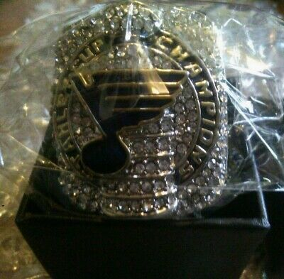Details About 2019 Official St Louis Blues Championship Sz10 Replica Ring Stanley Cup O Reilly In 2020 Stanley Cup Rings Pittsburgh Penguins Stanley Cup