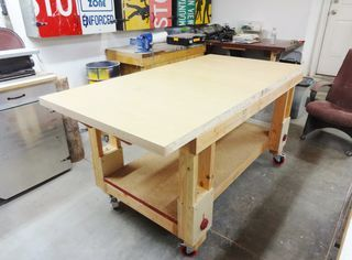 Height Adjustable Outfeed Worktable Cool Woodworking Projects