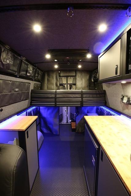 Rb Gear Hauler Van Gd 170 Fabric Panel Bed