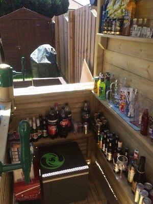 1700 X1200 Garden Bar With Wrap Around Bar Ebay Garden Bar
