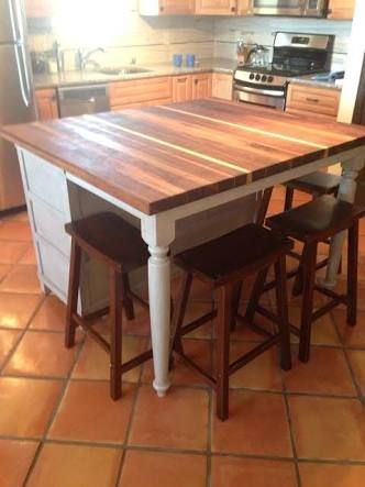 Image result for repurposed buffet kitchen island furniture