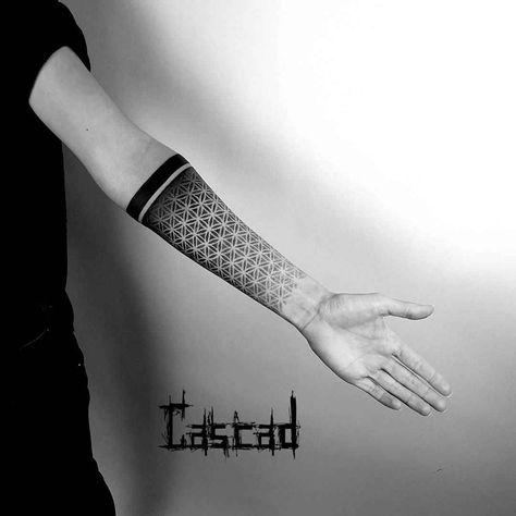 Ilya Cascad Kandaurov - ornamental tattoo - Brenda O.