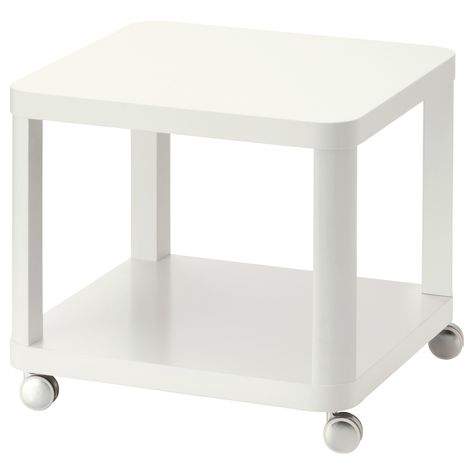 Tingby Beistelltisch Mit Rollen Weiss Ikea Deutschland Beistelltisch Rollen Beistelltisch Beistelltisch Weiss