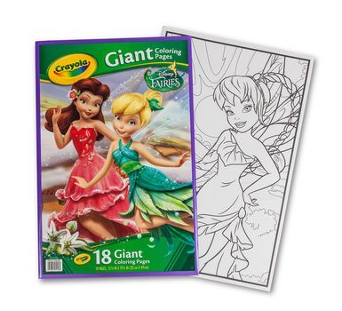 Giant Coloring Pages Fairies Crayola Coloring Pages Disney Fairies Fun Activities For Kids