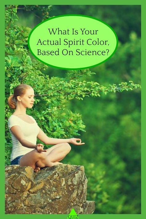 What Is Your Actual Spirit Color, Based on Science?