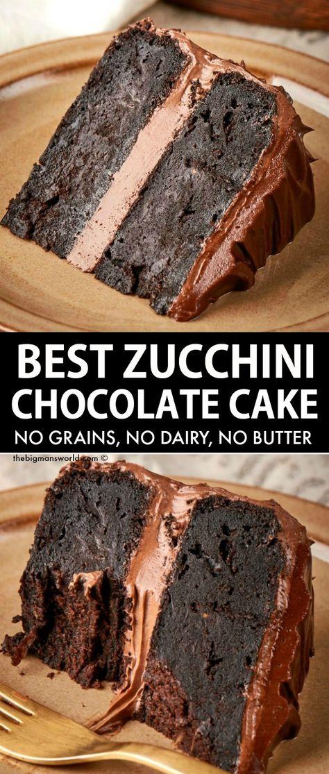 Low Carb Desserts, Gluten Free Desserts, Dairy Free Recipes, Vegan Desserts, Just Desserts, Delicious Desserts, Yummy Food, Healthy Chocolate Desserts, Foods With Gluten