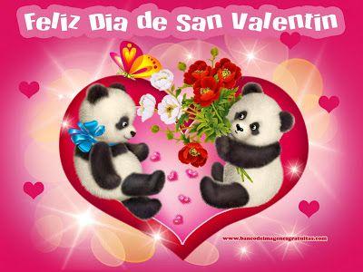 Schön Día Del Amor Y La Amistad. Feliz Día De San Valentin. | Amor Y Amistad, San  Valentín | Pinterest | Blessiu2026