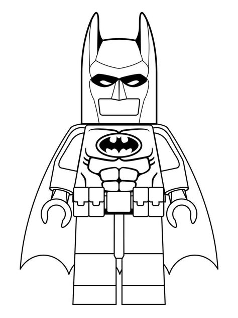 Pin by Tri Putri on 9 Lego Batman Coloring Pages   Pinterest   Lego ...
