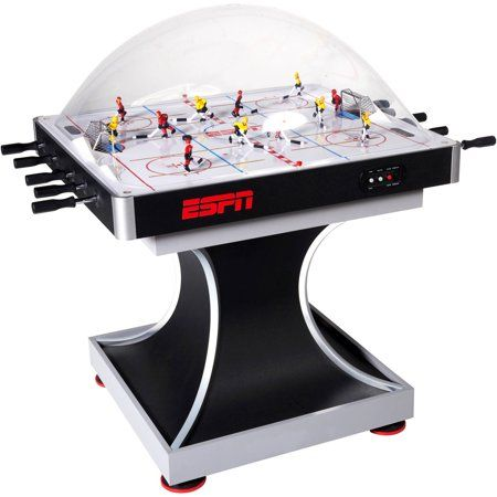 Espn Dome Stick Hockey Table Electronic Scorer Stadium Sound Effects Walmart Com Hockey Arcade Table Scoring System