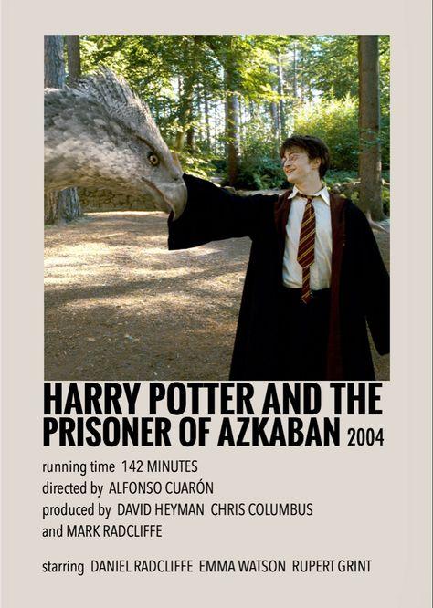 Harry Potter and the prisoner of Azkaban by Millie