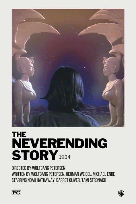 The Neverending Story Polaroid Movie Poster
