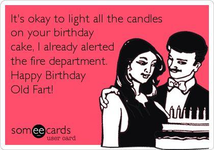 Happy Birthday Old Fart Ecard Happy birthday old fart – Old Fart Birthday Cards