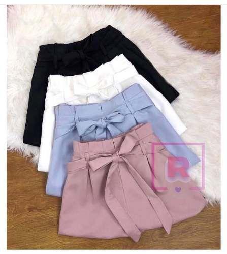 01d28d81b2cb14 short cintura alta bengaline shortinho laço roupas femininas ...