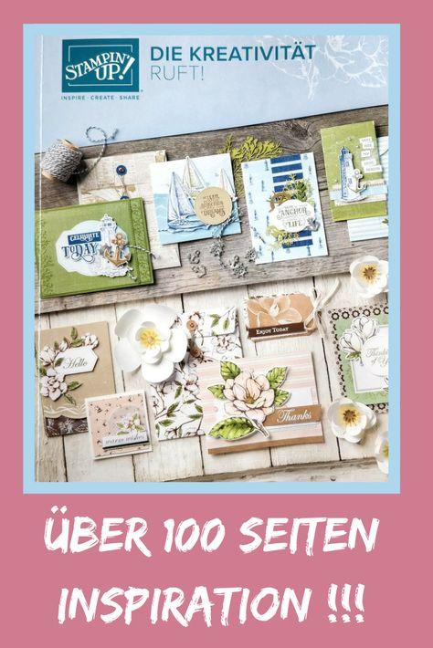 Stampin Up Katalog Vorbestellen Stampin Katalog Kreativ Basteln