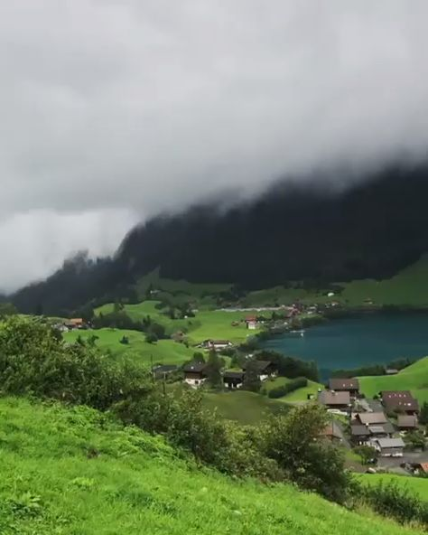 Green paradise from Lungern, Switzerland