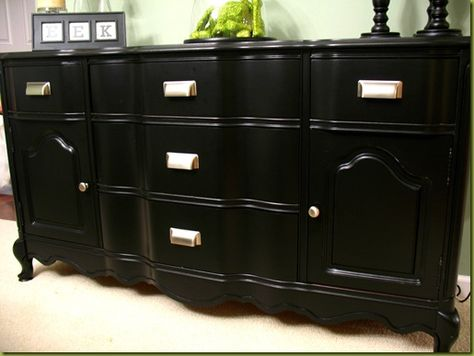 paint refinish furniture diy on pinterest furniture dressers and. Black Bedroom Furniture Sets. Home Design Ideas