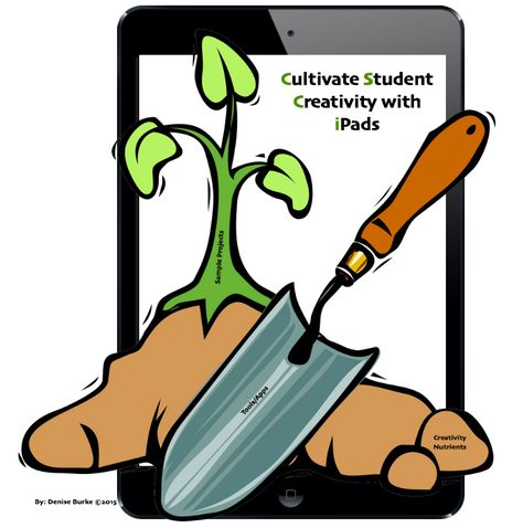 TOUCH this image: Cultivate Creativity with iPads by Denise Burke