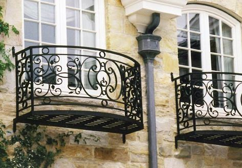New French Balcony Railing