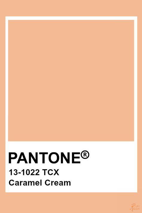 Pantone Caramel Cream