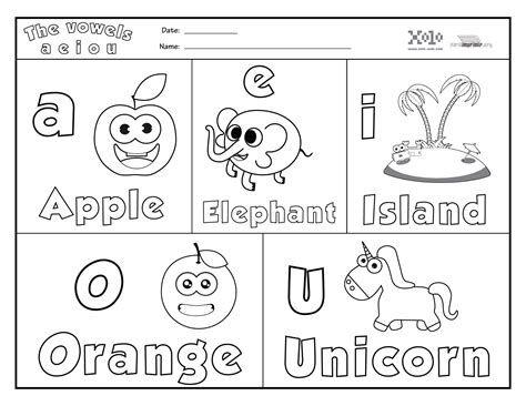 Actividades Para Aprender Vocales Vowels Worksheet Vocales En Ingles Ingles Para Preescolar Actividades De Letras