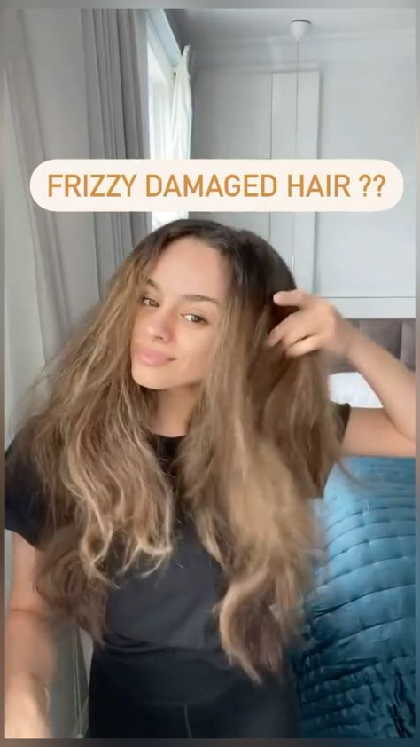 hair masks for frizzy damazed hairs: beauty tutorial