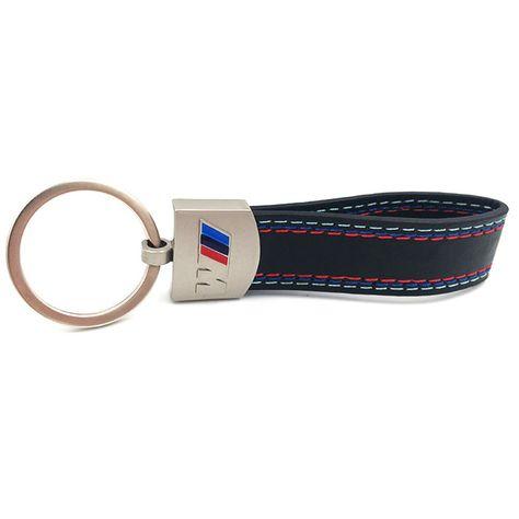 ITALY Leather Strap Keychain Keyring Key Chain Ring for ABARTH Alfa Romeo FIAT