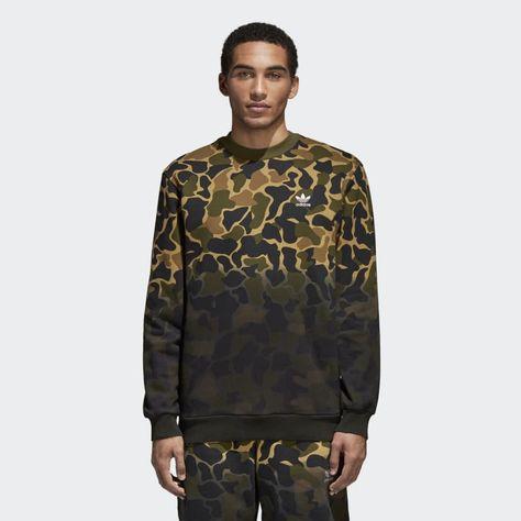 Camouflage Sweatshirt Multicolor CE2463
