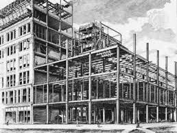 Image Result For 1890 S Steel Construction Chicago School Building Home Insurance Building