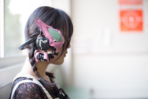 GunPla Parts Installed on Bluetooth Headphones [Keiichi Ikeuchi] - Gundam Kits Collection News and Reviews