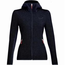 Salewa Fanes Hybrid Wo W Jacket Damen Wolljacke blau S Salewa