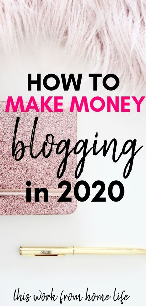 How To Start A Blog That Makes Money - This Work From Home Life