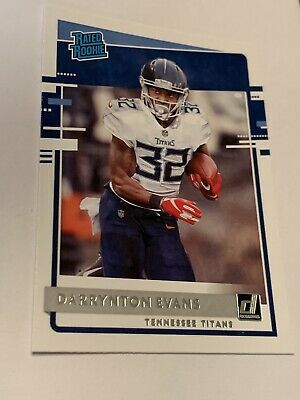 2020 Donruss Darrynton Evans Rated Rookie Tennessee Titans 333 Base Star Rc Ebay In 2020 Tennessee Titans Tennessee Titans