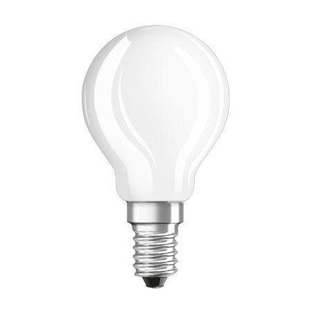 Ampoule Filament Led Dépoli Globe 45 Mm E14 470 Lm 40 W