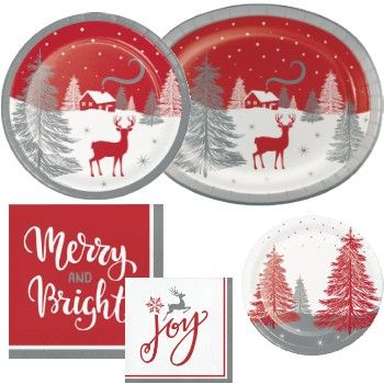 Winter Wonder Paper Plates And Napkins Click Now To Save Up To 30 Off Christm Dyi Christmas Decorations Christmas Tableware Classroom Christmas Decorations