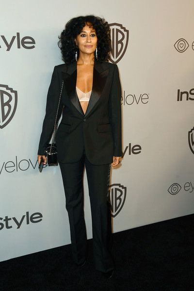 Actor Tracee Ellis Ross attends the 19th Annual Post-Golden Globes Party hosted by Warner Bros. Pictures and InStyle.