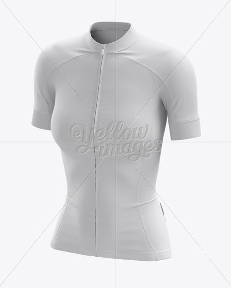 Download Women S Cycling Jersey Mockup Halfside View In Apparel Mockups On Yellow Images Object Mockups Clothing Mockup Women S Cycling Jersey Cycling Women