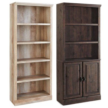 49fb28e4584b698bc2a9dd01660df110 - Better Homes And Gardens Crossmill 5 Shelf Bookcase Multiple Finishes