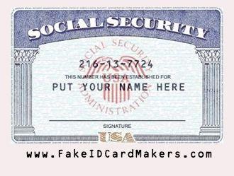 Social Security Card Psd Social Security Office Social Security Card Id Card Template