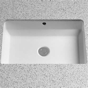 Toto Vernica Design I Vitreous China Rectangular Undermount Bathroom Sink With Overflow Toto Undermount Bathroom Sink Sink Diy Bathroom Remodel