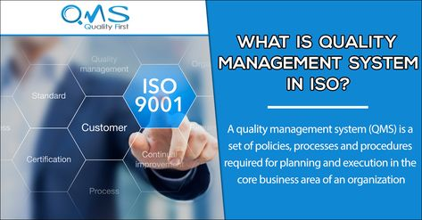 Quality management systems and ISO