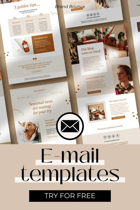 E-mail templates for business, canva customizable email newsletter templates, mailchimp account