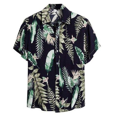 Material: COTTONShirts Type: Casual ShirtsSleeve Length(cm): ShortCollar: Turn-down CollarClosure Type: Single BreastedSleeve Style: REGULARModel Number: ShirtsFabric Type: BroadclothStyle: CasualPattern Type: PrintModa Masculina: Camisa MasculinaMens Shirts Casual Slim Fit: Men ShirtsKemeja Pria: Camisas HombreHemden Herren: Chemise HommeOverhemden Heren: CamisaKoszula: Blusa MasculinaBaju Pria: GomlekBlusas Masculina: ChemiseCamisa Manga Curta: Chemise Homme Manche CourtCamisa Hombre Verano: S
