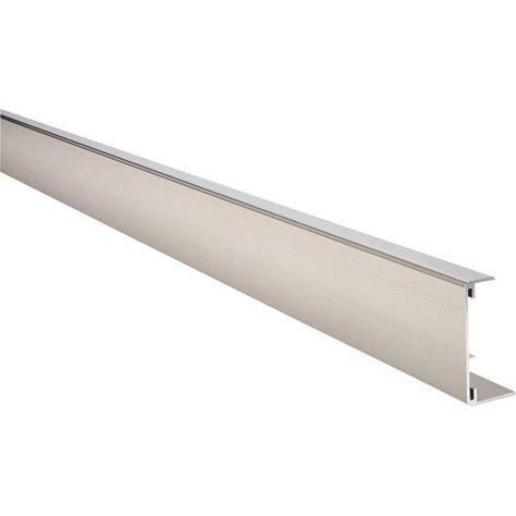 Profil De Chant Reno Plan Aluminium Brossé Plan De