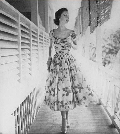 British Vogue by Clifford Coffin, 1952
