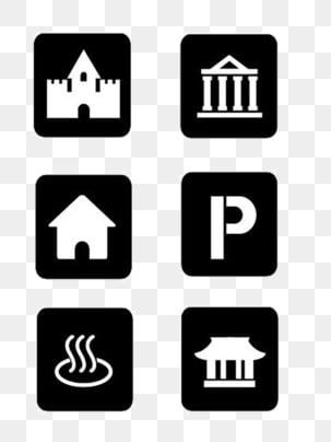 Black And White Square Simple Building Icon Room Icon Parking Lot Coffee Shop Png Transparent Clipart Image And Psd File For Free Download In 2021 Building Icon Clip Art Simple Building